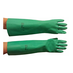 Chemical Resistant NITRILE Gloves – Green