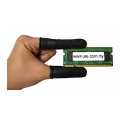 Conductive Latex Finger Cots (Black)