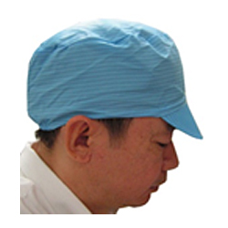 Cleanroom ESD Cap w/soft visor