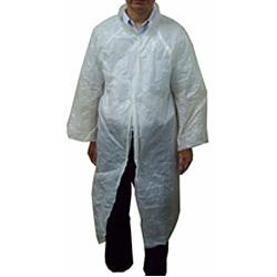 Plastic Disposable Lab / Visitor Coat