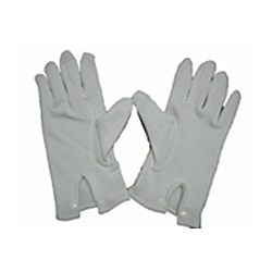 Thick COTTON Gloves with Button