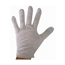 Thin COTTON Gloves – White